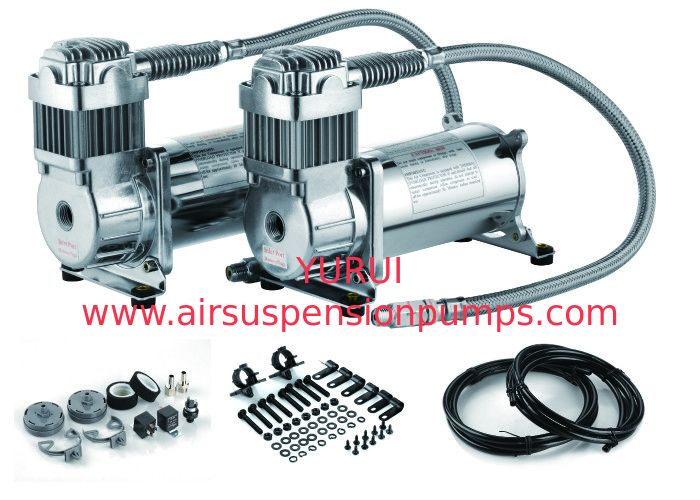 Fast Infaltion 12V Air Suspension Compressor For Cars YURYU YF6470