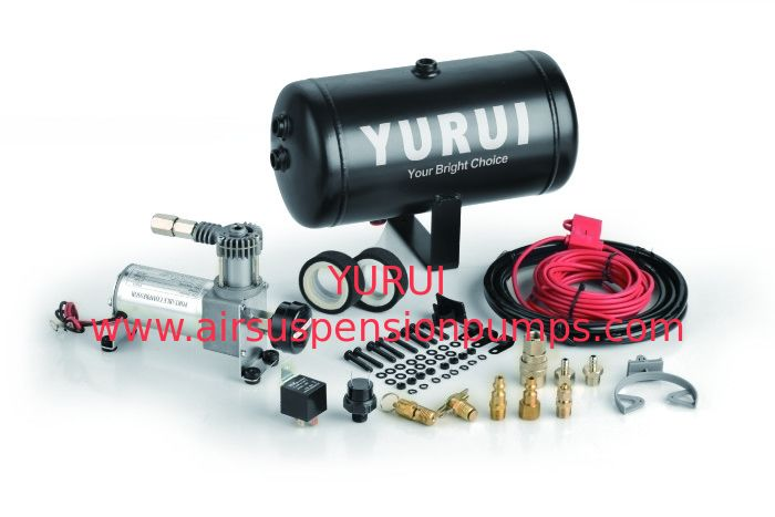 Yurui 7001 Onboard Air Compressor Kit  With 1 Gallon Air Tank 120 Psi