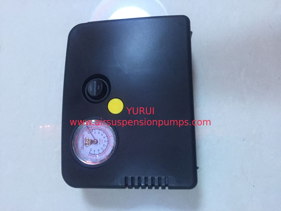 High Performance Black Car Air Pump With Gauge And Switch For Toyota Ist Inflation