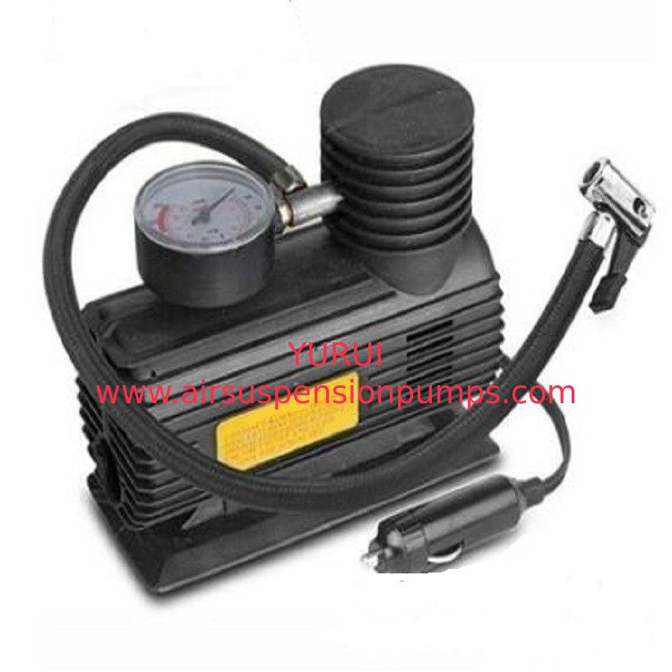 10ft Cord High Volume 12v Air Compressor , Electric Portable Auto Air Pump