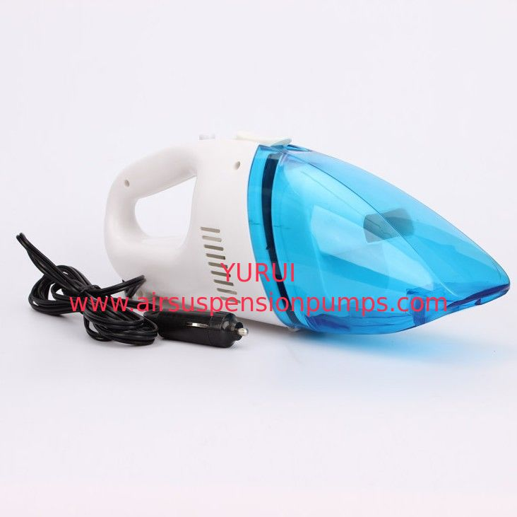 35W - 60W plastic Portable Car Vacuum Cleaner 12V Blue Red Black Color Optional