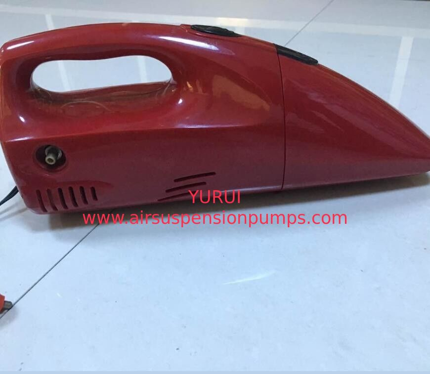 2 In 1 Car Wash Vacuum Cleaner , Portable 250psi 12vdc Air Compressor